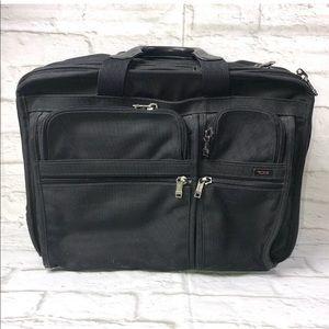 Tumi Alpha Ballistic Nylon Wheeled portfolio Bag